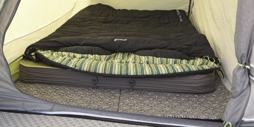 The Outwell Inlayzzz Mat is sold by Devon Outdoor and The Camping and Kite Centre