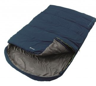The Outwell Campion Lux Double Sleeping Bag is Sold by Devon Outdoor and The Camping and Kite Centre.