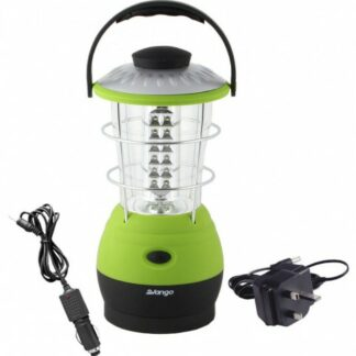 The Vango Galaxy Rechargeable 60 Lantern is Sold by Devon Outdoor and The Camping and Kite Centre.