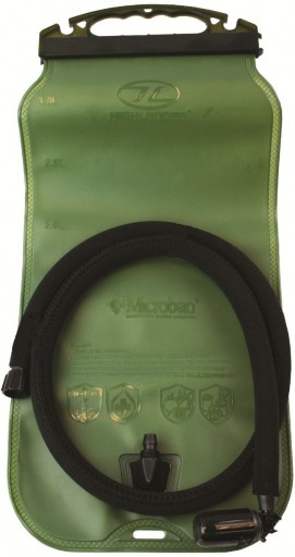 The Highlander Military Hydration Bladder is Sold by Devon Outdoor and The Camping and Kite Centre.