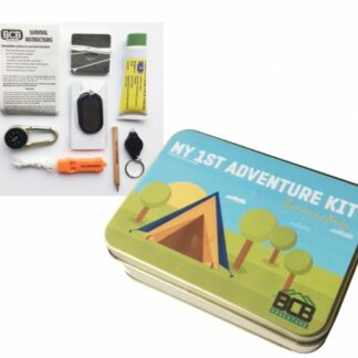 My 1st Adventure Kit is sold by Devon Outdoor and The Camping and Kite Centre