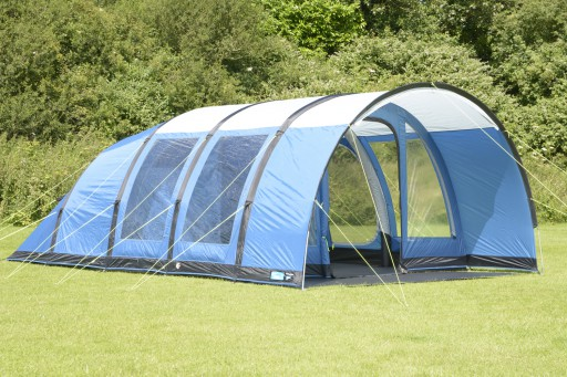 The Kampa Paloma 5 Air Tent 2018 is Sold by Devon Outdoor and The Camping and Kite Centre.