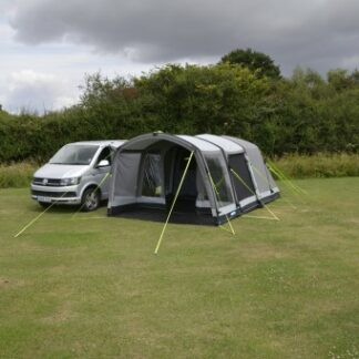 The Kampa Touring Classic Air VW Driveaway Awning is Sold by Devon Outdoor and The Camping and Kite Centre,