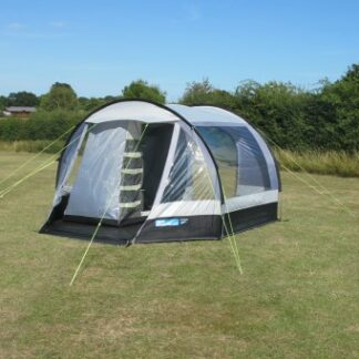 The Kampa Travel Pod Mini Driveaway Awning is Sold by Devon Outdoor and The Camping and Kite Centre.