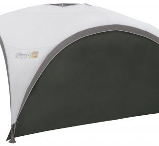 The Coleman Event Shelter Sunwall is Sold by Devon Outdoor and The Camping and Kite Centre.