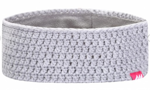 The Skogstad Gytri Crocheted Headband is Sold by Devon Outdoor and The Camping and Kite Centre.