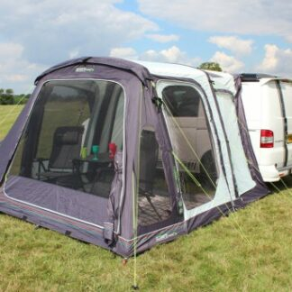 The Outdoor Revolution Movelite T2 Highline Driveaway Awning is Sold by Devon Outdoor and The Camping and Kite Centre.