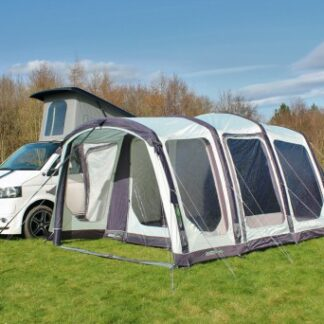 The Outdoor Revolution Movelite T4 Highline Driveaway Awning is Sold by Devon Outdoor and The Camping and Kite Centre.