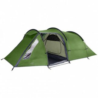 The Vango Omega 350 Tent is Sold by Devon Outdoor and The Camping and Kite Centre.
