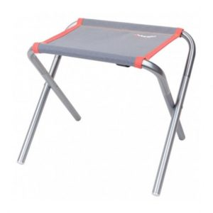 The Vango Pioneer Aluminium Stool is Sold by Devon Outdoor and The Camping and Kite Centre.