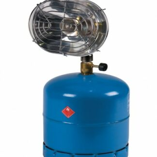 The Kampa Glow 2 Parabolic Heater is Sold by Devon Outdoor and The Camping and Kite Centre.