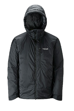 The Rab Mens Photon X Jacket is Sold by Devon Outdoor and The Camping and Kite Centre.