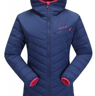 The Skogstad Ladies Sjunkhatten Primaloft Jacket is Sold by Devon Outdoor and The Camping and Kite Centre.