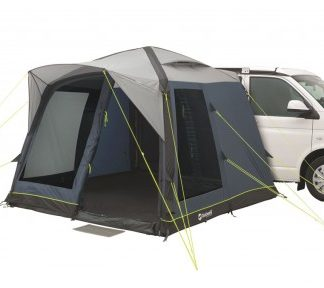 The Outwell Milestone Pace Air Driveaway Awning 2018 is Sold by Devon Outdoor and The Camping and Kite Centre.