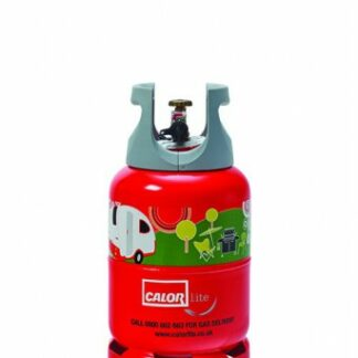 The Calor Propane 6kg Lite Refill is Sold by Devon Outdoor and The Camping and Kite Centre.