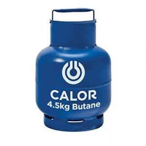 The Calor Butane 4.5kg Refill is Sold by Devon Outdoor and The Camping and Kite Centre.