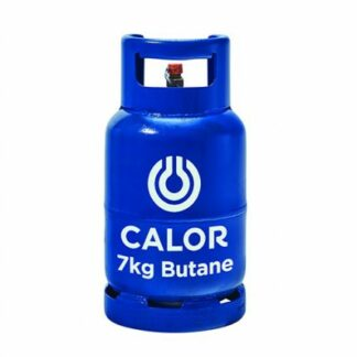 The Calor Butane 7kg Refill is Sold by Devon Outdoor and The Camping and Kite Centre.