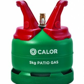 The Calor Patio 5kg Refill is Sold by Devon Outdoor and The Camping and Kite Centre.