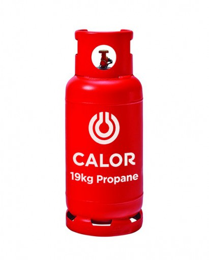 The Calor Propane 19kg Refill is Sold by Devon Outdoor and The Camping and Kite Centre.