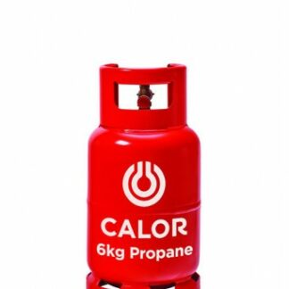 The Calor Propane 6kg Refill is Sold by Devon Outdoor and The Camping and Kite Centre.