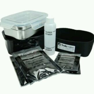 The Trekmates Flameless Cook Box is Sold by Devon Outdoor and The Camping and Kite Centre.
