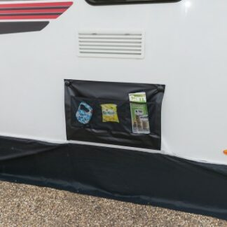 The Kampa Limpet Double Wheel Arch Cover is Sold by Devon Outdoor and The Camping and Kite Centre.
