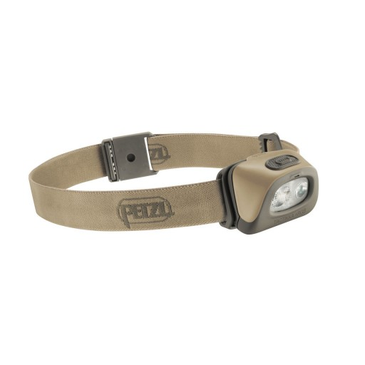 The Petzl Tactikka + RGB Headlamp is sold by Devon Outdoor and The Camping and Kite Centre