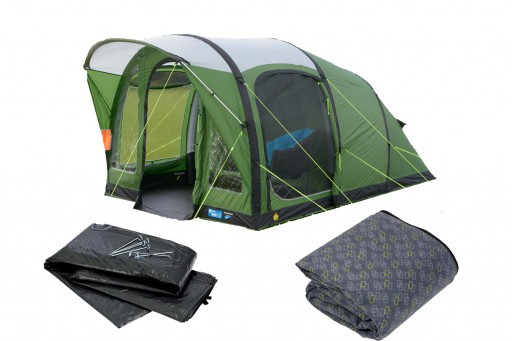 The Kampa Brean 3 Air Tent 2018 is Sold by Devon Outdoor and The Camping and Kite Centre.