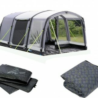 The Kamap Hayling 4 Air Pro Tent is Sold by Devon Outdoor and The Camping and Kite Centre.