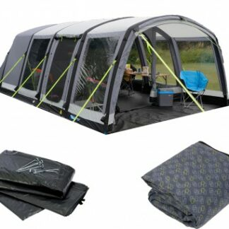 The Kampa Hayling 6 Air Pro Tent 2018 is Sold by Devon Outdoor and The Camping and Kite Centre.
