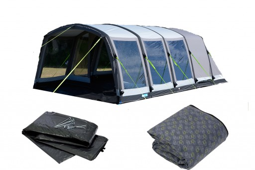 The Kampa Hayling 6 Classic Air Pro Tent 2018 is Sold by Devon Outdoor and The Camping and Kite Centre.