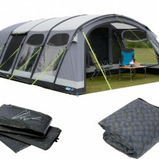 The Kampa Studland 8 Air Pro Tent 2018 is Sold by Devon Outdoor and The Camping and Kite Centre.