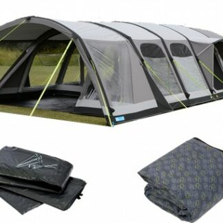 The Kampa Studland 8 Classic Air Pro Tent 2018 is Sold by Devon Outdoor and The Camping and Kite Centre.