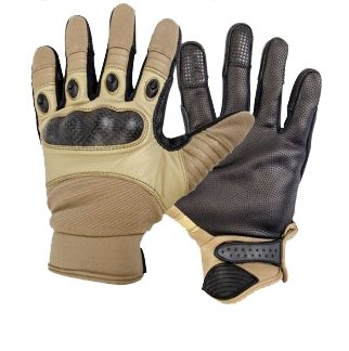 The Highlander Combat Gloves are Sold by Devon Outdoor and The Camping and Kite Centre.