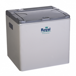 The Royal 3 Way 42Ltr Fridge is sold by Devon Outdoor and The Camping and Kite Centre