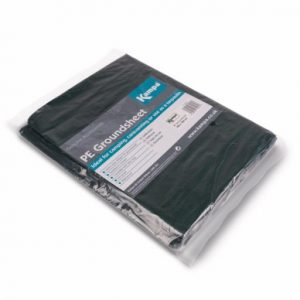 The Kampa PE Groundsheet is Sold by Devon Outdoor and The Camping and Kite Centre.