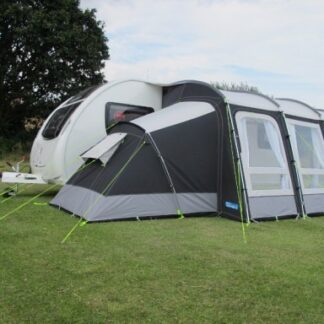 The Kampa Pro Poled Annexe is Sold by Devon Outdoor and The Camping and Kite Centre.