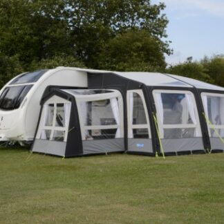 The Kampa Pro Air Conservatory is Sold by Devon Outdoor and The Camping and Kite Centre.
