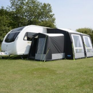 The Kampa Pro Air Tall Annexe is Sold by Devon Outdoor and The Camping and Kite Centre.