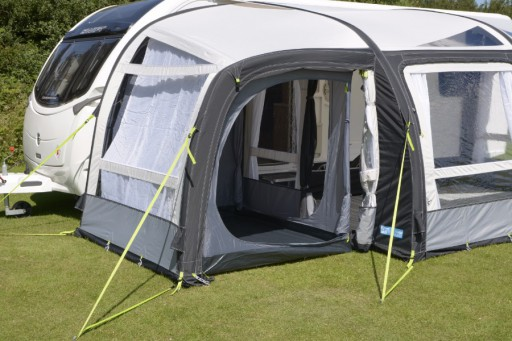 The Kampa Rally AIR Pro Plus Inner Tent is Sold by Devon Outdoor and The Camping and Kite Centre.