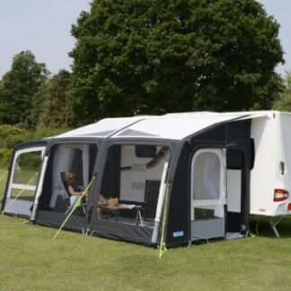 The Kampa Rally Air Pro 390 Mesh Panel Set is Sold by Devon Outdoor and The Camping and Kite Centre.