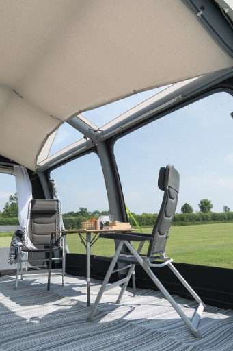 The Kampa Ace Air 400 All Season Roof Lining is Sold by Devon Outdoor and The Camping and Kite Centre.