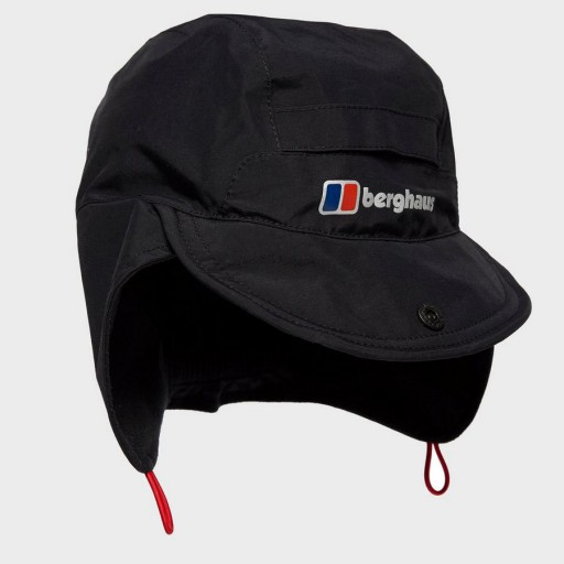 The Berghaus Hydroshell Cap is Sold by Devon Outdoor and The Camping and Kite Centre.