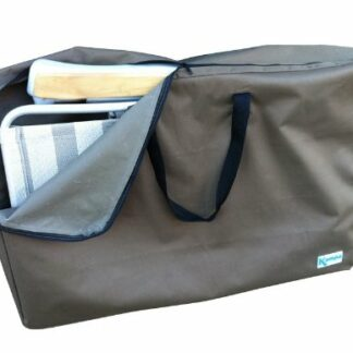 The Kampa XL Relaxer Carry Bag is Sold by Devon Outdoor and The Camping and Kite Centre.