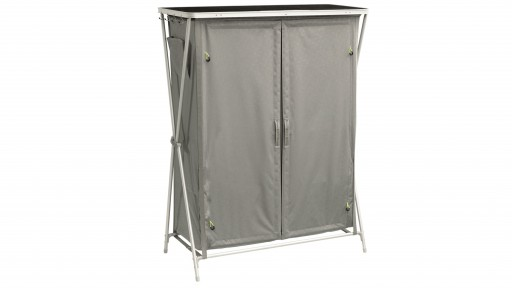 The Outwell Martinique Cupboard is Sold by Devon Outdoor and The Camping and Kite Centre.