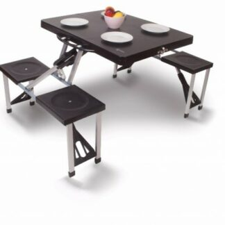 The Kampa Happy Table is Sold by Devon Outdoor and The Camping and Kite Centre.