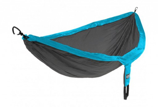 The Eno DoubleNest Hammock is Sold by Devon Outdoor and The Camping and Kite Centre.