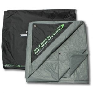 The Outdoor Revolution Airedale 7 Footprint is Sold by Devon Outdoor and The Camping and Kite Centre.