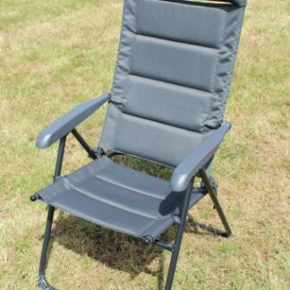 The Outdoor Revolution Vicenza Chair is Sold by Devon Outdoor and The Camping and Kite Centre.