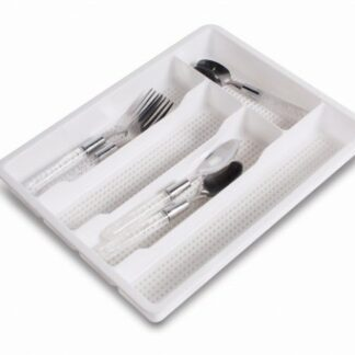 The Kampa Cutlery Tray Large is Sold by Devon Outdoor and The Camping and Kite Centre.